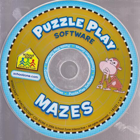 School Zone: Puzzle Play Mazes