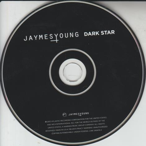 Jaymes Young: Dark Star w/ No Artwork
