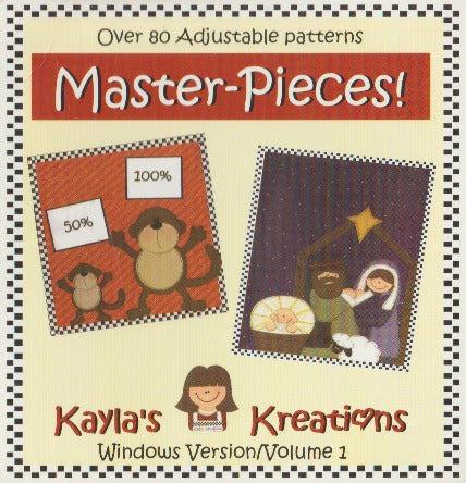 Master-Pieces!: Kayla's Kreations Volume 1