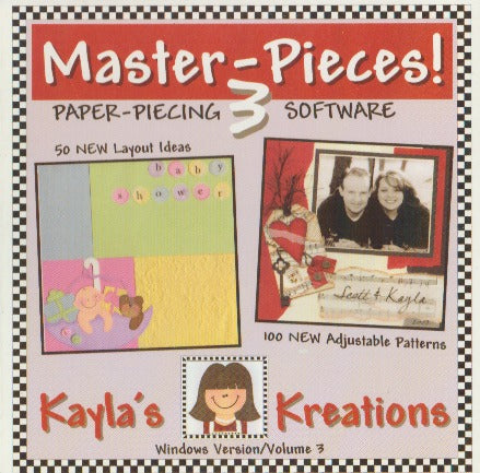 Master-Pieces!: Kayla's Kreations Volume 3