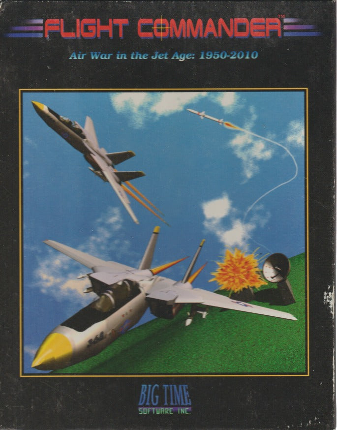 Flight Commander: Air War In The Jet Age: 1950-2010 w/ Manual