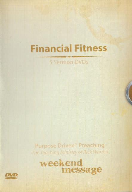 Financial Fitness: 5 Sermon: Purpose Driven Preaching: The Teaching Ministry Of Rick Warren 5-Disc Set