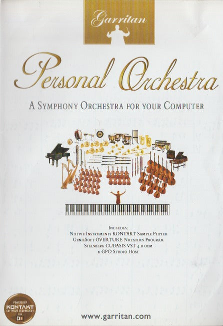 Personal Orchestra: A Symphony For Your Computer