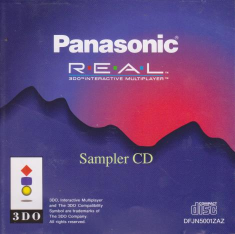 Panasonic REAL 3DO Sampler CD