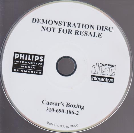 Caesar's Boxing Demo