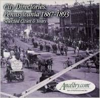 Ancestry: City Directories: Pennsylvania 1887-1893