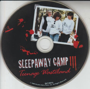 Sleepaway Camp: Teenage Wasteland 3 w/ No Artwork