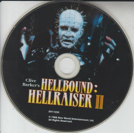 Clive Barker's Hellbound: Hellraiser 2 w/ No Artwork