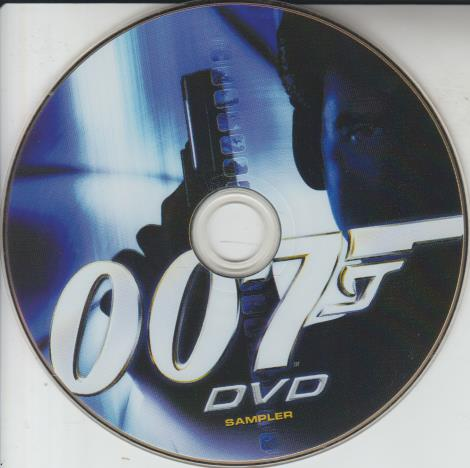 007: DVD Sampler Promo w/ No Artwork