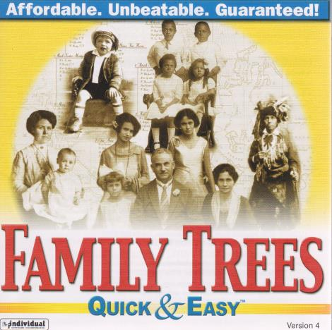 Family Trees: Quick & Easy 4 w/ Manual