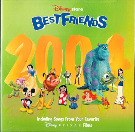 Disney Store: Best Friends 2004 w/ Artwork