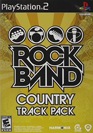 Rock Band: Country Track Pack w/ Manual