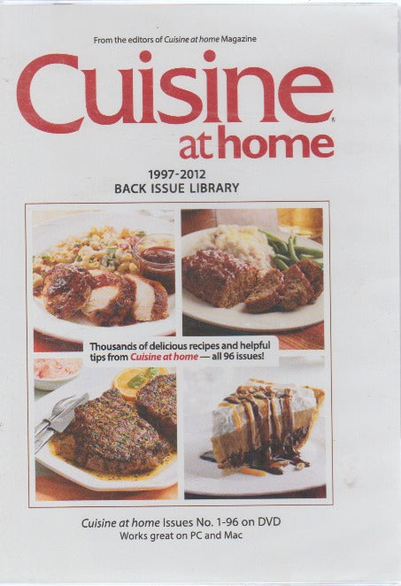 Cuisine At Home: 1997-2012 Back Issue Library