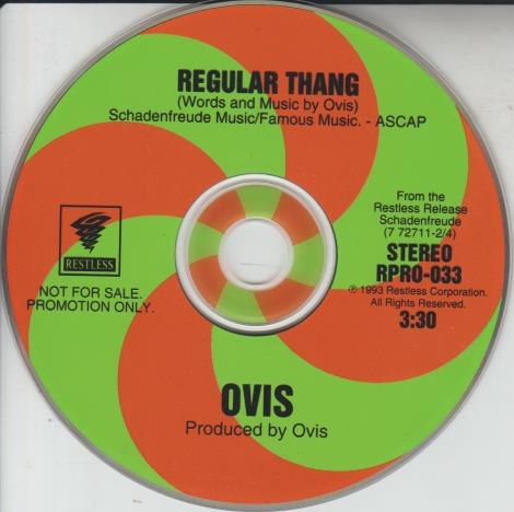 Ovis: Regular Thang Promo