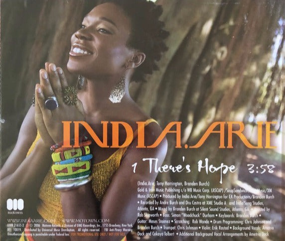 India.Arie: There's Hope Promo