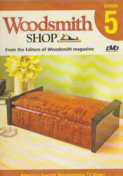 Woodsmith Shop: Season 5 3-Disc Set