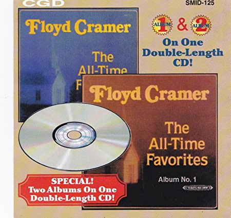 Floyd Cramer: The All-Time Favorites: Album 1 &  2 w/ Artwork