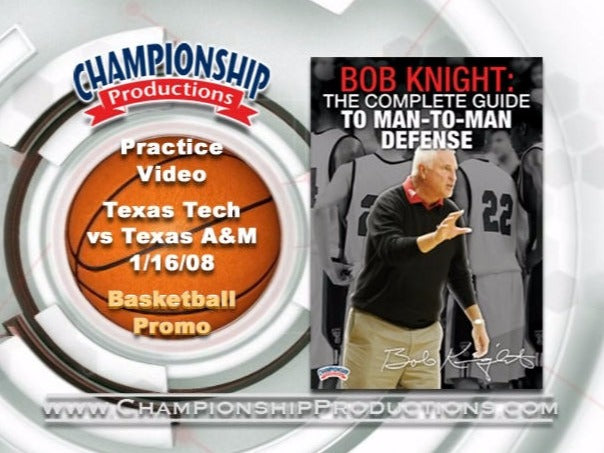 Bob Knight: The Complete Guide To Man-to-Man Defense Incomplete 1-Disc Set