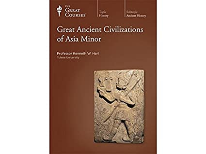 The Great Courses: Great Ancient Civilizations Of Asia Minor 4-Disc Set