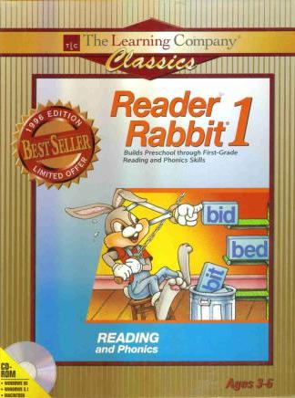 Reader Rabbit 1 Deluxe