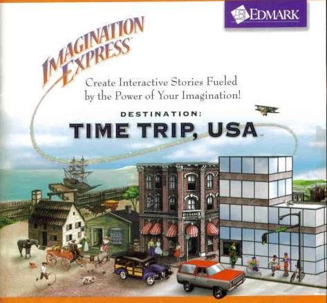 Imagination Express Destination: Time Trip USA w/ Manual