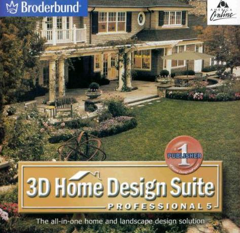 3D Home Design Suite 5 Pro w/ Guide