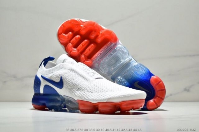 the best attitude 3cf47 9614a NIKE AIR VAPORMAX FLYKNIT 2. 0 UNISEX RUNNING SHOES WHITE/RED/BLUE