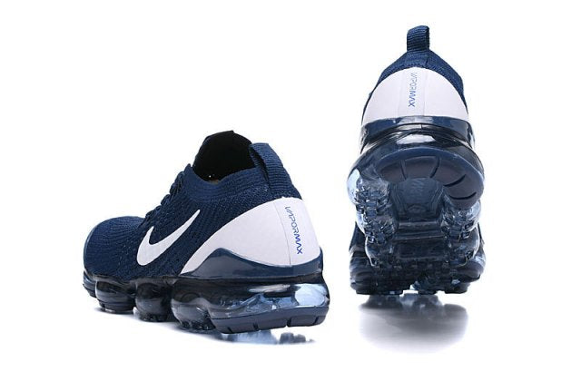 quality design 913e5 701df NIKE AIR VAPORMAX FLYKNIT 2019 NAVY BLUE WHITE