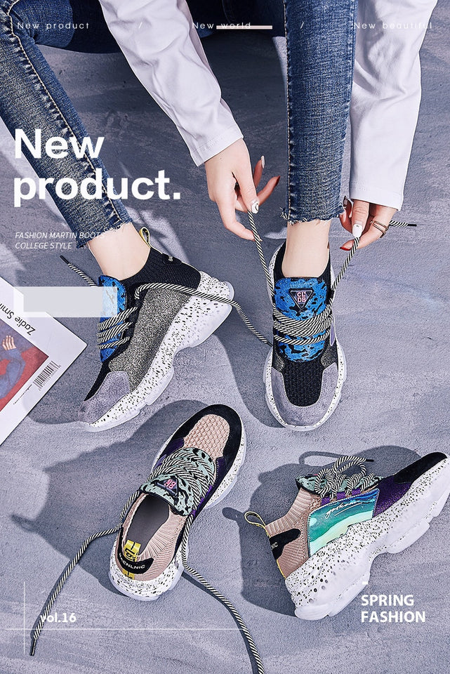 42253778942 2019 The new Sell well simple fashionable casual women's shoes spring trend  Mixed colors white female shoes Breathable Soft