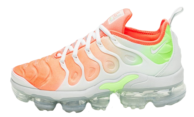 timeless design c049e f40df NIKE AIR VAPORMAX PLUS ORANGE MULTI