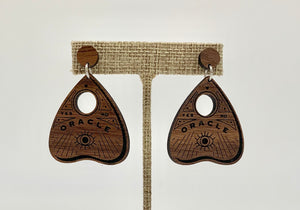 Ouija Earrings.