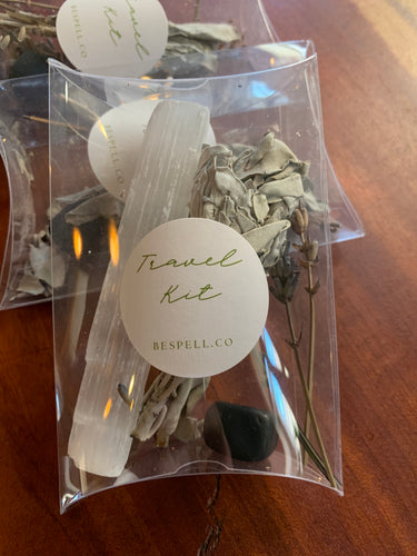 Travel Crystal Smudge Kit