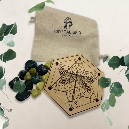 Crystal Grid for Elemental Connection