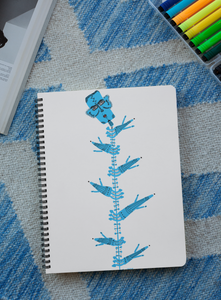 'Tree' Digital Art Spiral Notebook