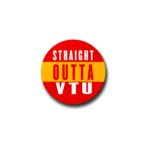 Straight Outta VTU Badge