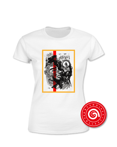 'Artist Charcoal Drawing' Women's T-Shirt