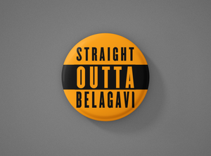 Straight Outta Belagavi Badge