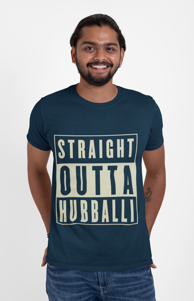 'Straight Outta Hubballi' T-Shirt