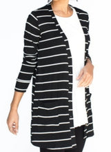 Load image into Gallery viewer, Favorite Cardi - Black & White