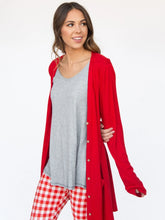 Load image into Gallery viewer, Favorite Cardi - Red Lipstick