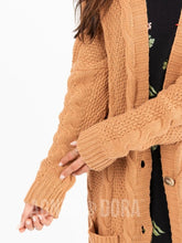 Load image into Gallery viewer, Boyfriend Cardi - Camel