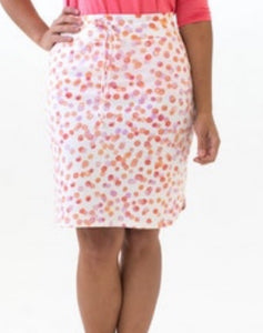 Live-In Skirt - Abstract Dot