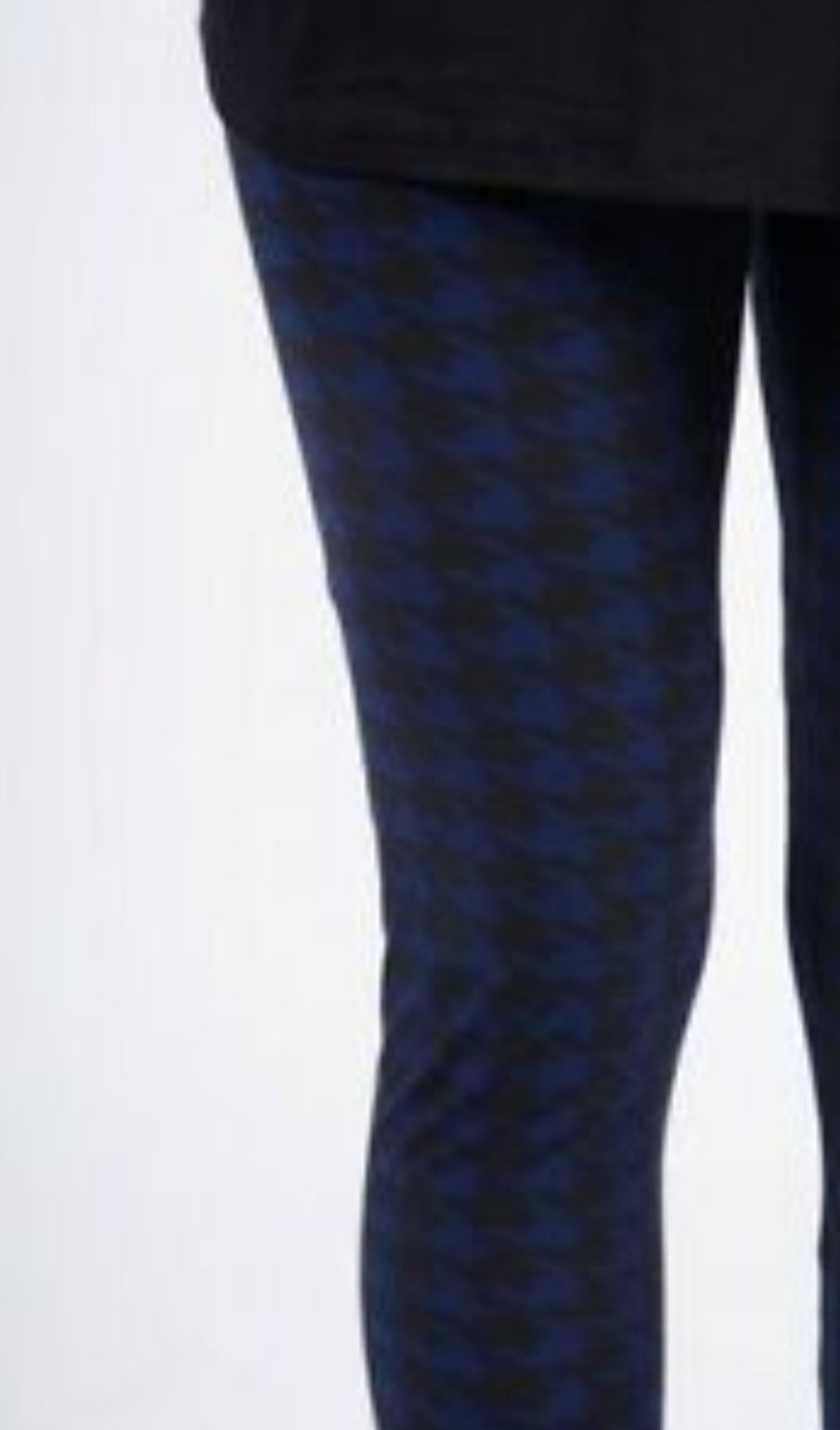 KIDS Leggings - Ain't Nothing but a Hound Dog- Navy