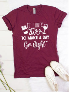 Graphic Tee - It Takes Two