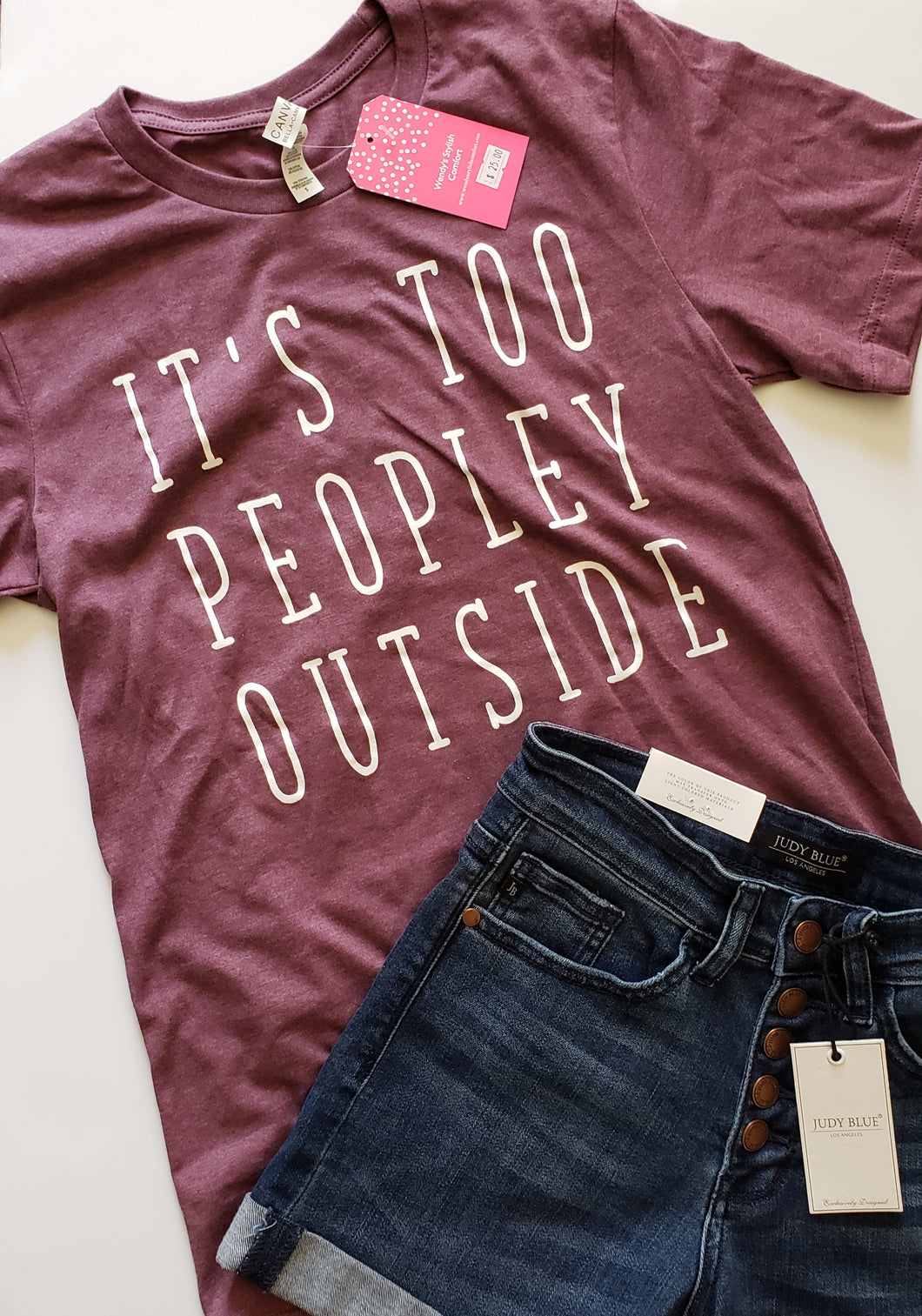Graphic Tee - Too Peopley