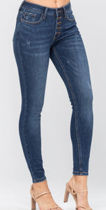 Judy Blue Jeans - Button Fly Skinny