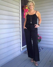 Load image into Gallery viewer, Sunrise Jumpsuit - black