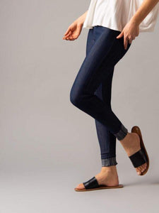 Knit Jeggings - Dark Denim