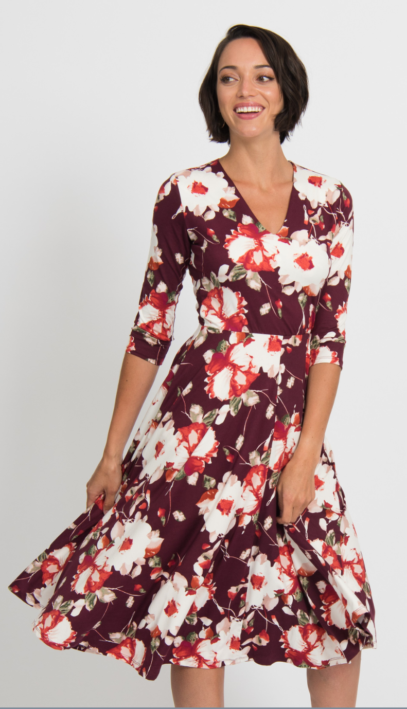 Essential Midi Dress - Floral