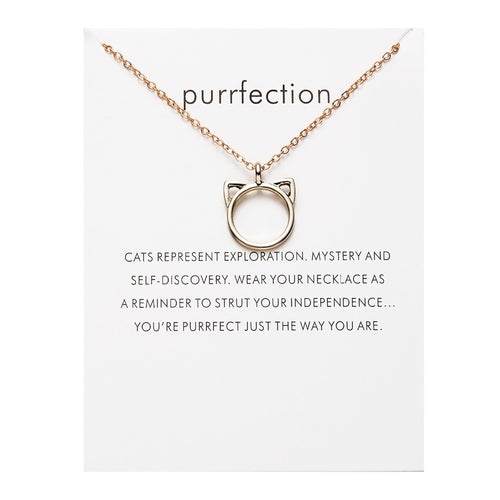 Purrfection Wish Necklace